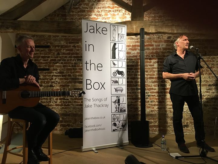 Jake in the Box performing at the Coach House Studios, Wirksworth