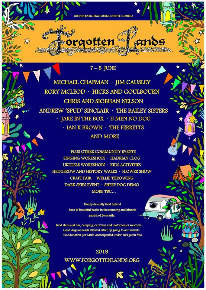 Forgotten Lands Festival Flyer